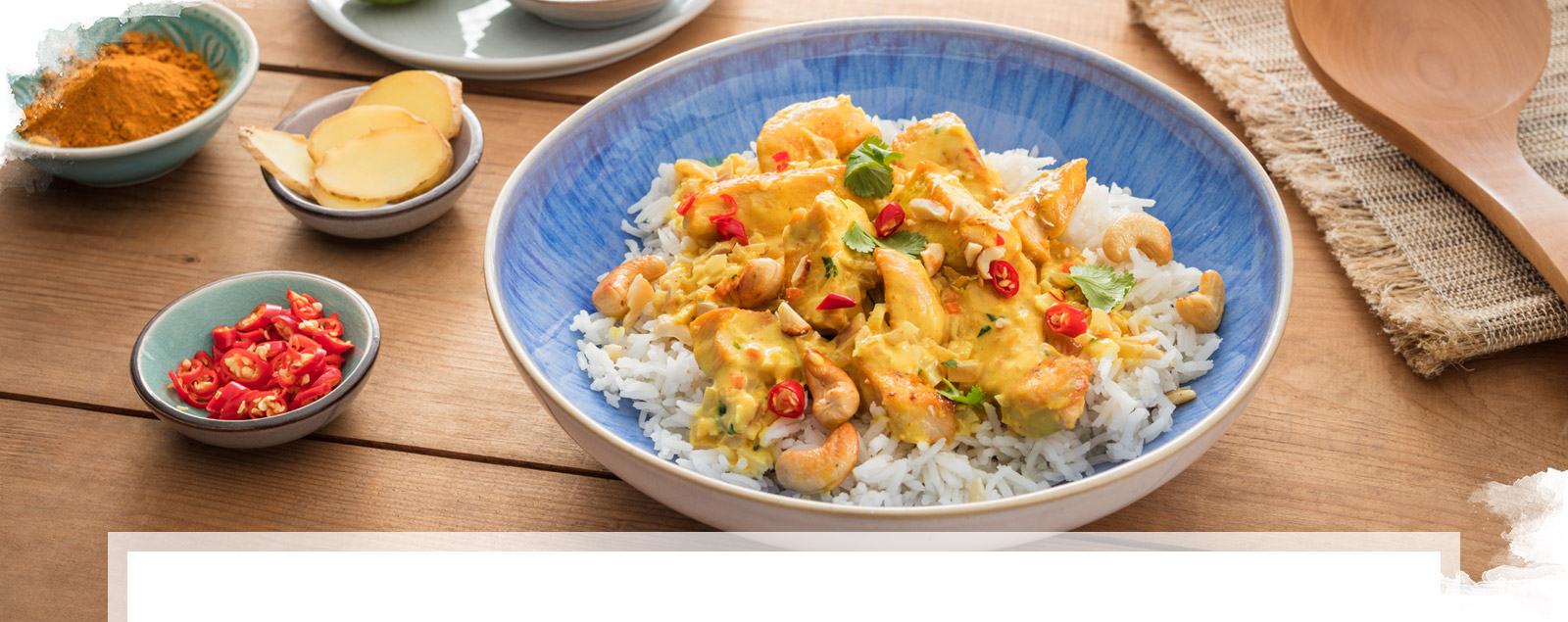 Indian Curry mit Brunch