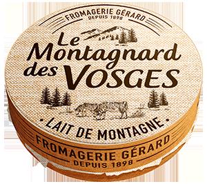 Le Montagnard Weichkäse aus den Vogesen