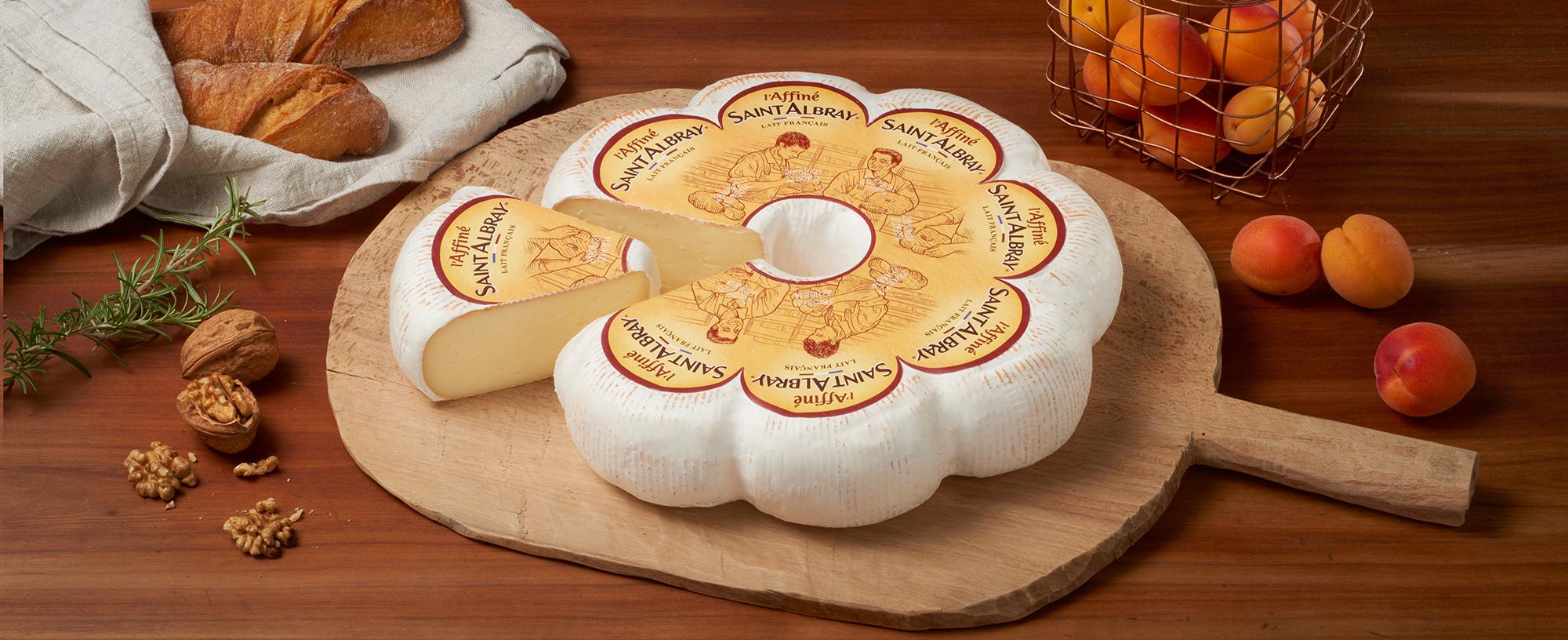 Saint Albray Käsetheke