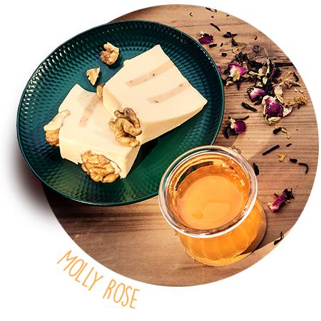 Käsebegleiter: Rambol und Molly Rose