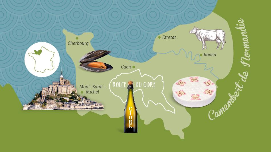 Teaser Camembert und Cidre Tour