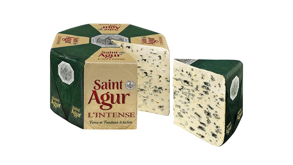 Saint Agur geschnitten Theke
