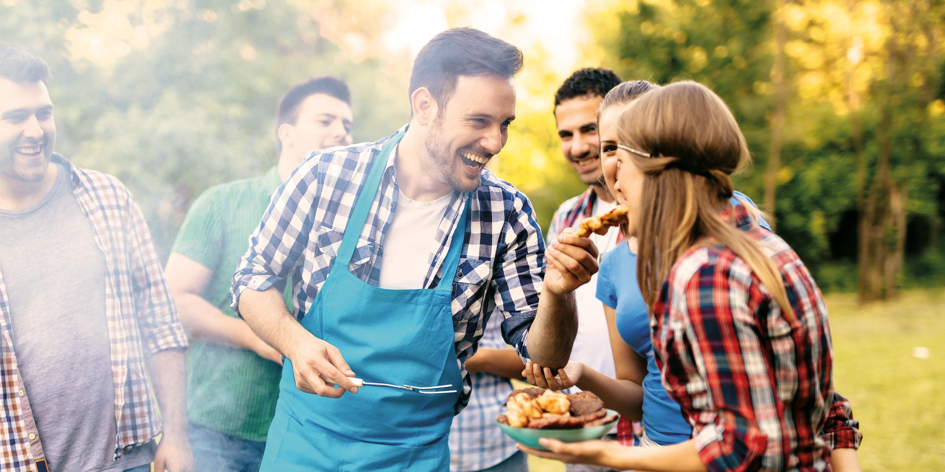 Perfekte Ideen und Rezepte für ein tolles Grillfest.