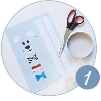 DIY Anleitung für einen kuscheligen Eisbär