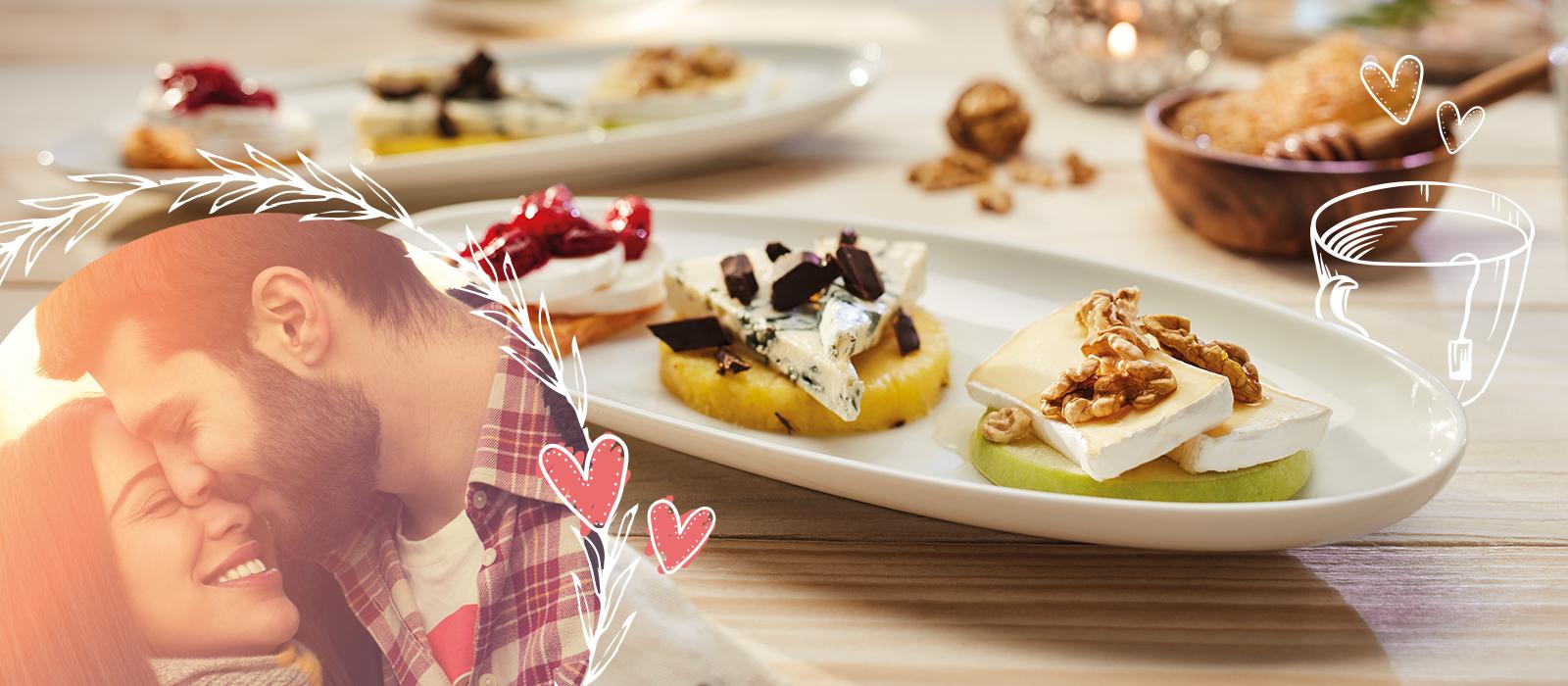 Valentinstag - Ideen für köstliche Stunden