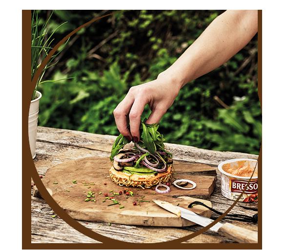 Ramen-Burger Zubereitung Schritt 2