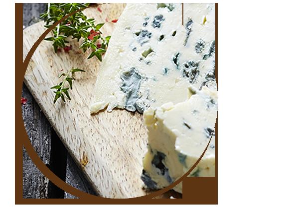 Blauschimmelkäse kann auch als Raclette-Käse verwendet werden