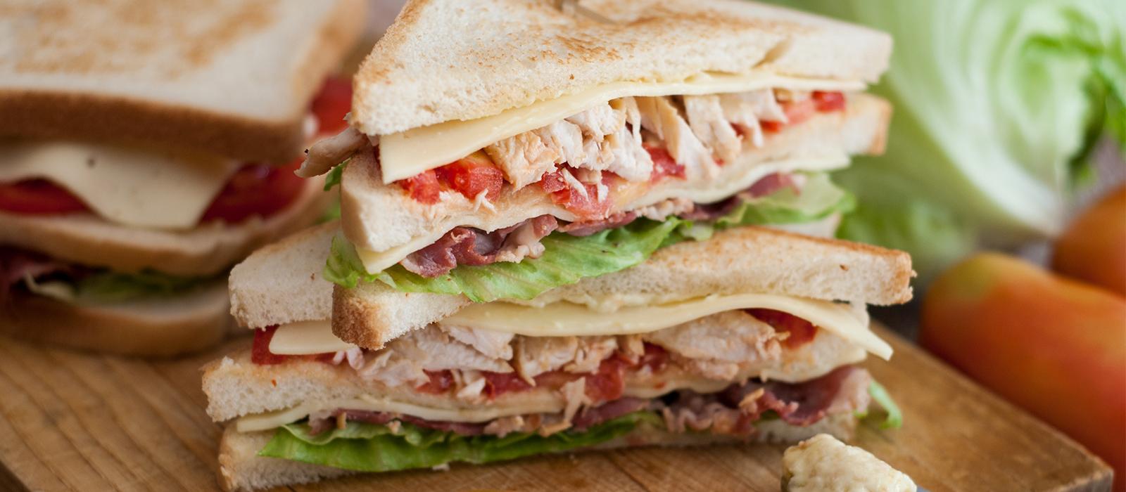 Rezept für klassisches Club Sandwich